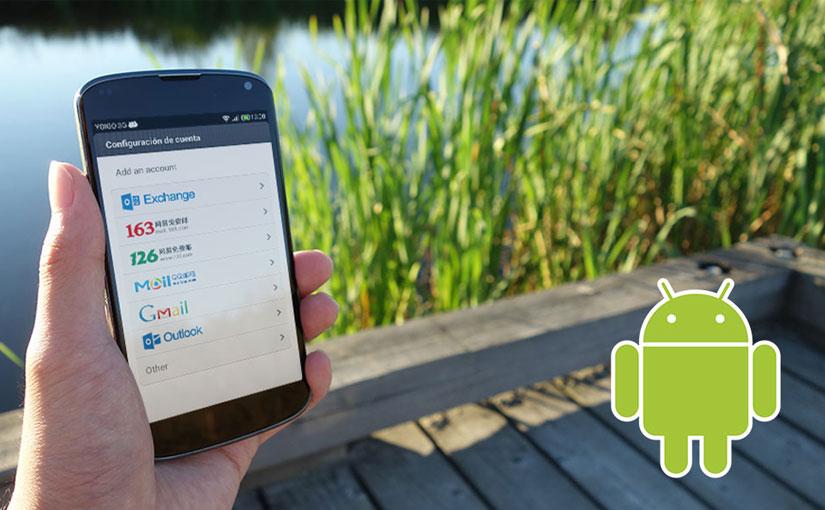 Configurar correo Android