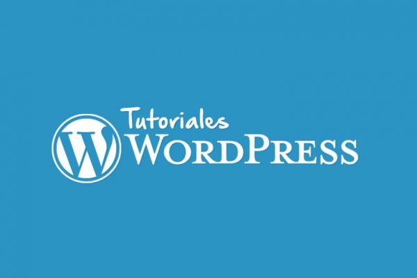 Subida de imágenes wordpress