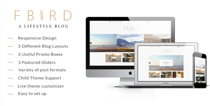 Plantilla para WordPress Fbird