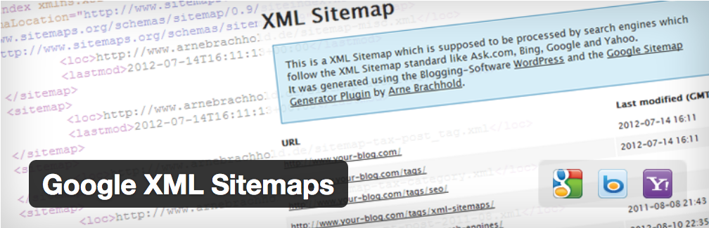 Plugin WordPRess XML Sitemaps