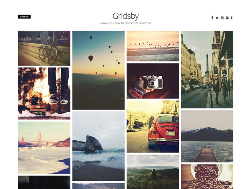 Gribsby WordPress fotografía