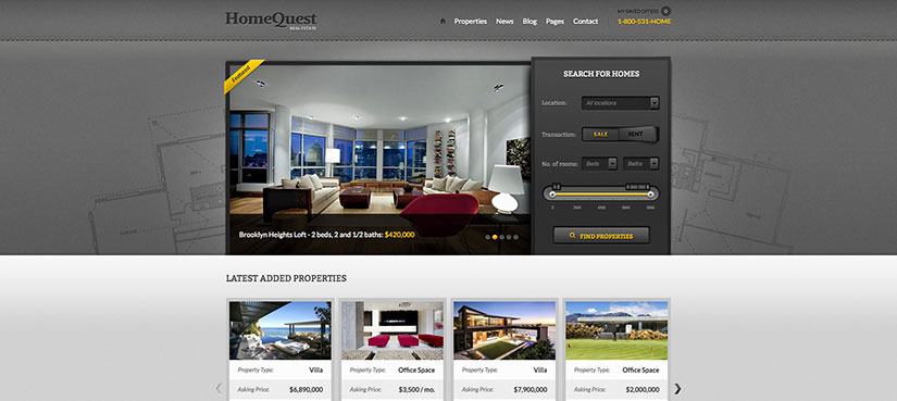 Home quest wordpress inmobiliarias