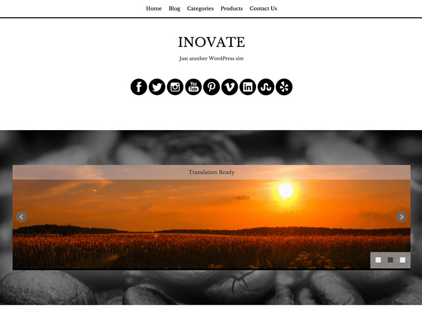 inovate WordPress fotografía