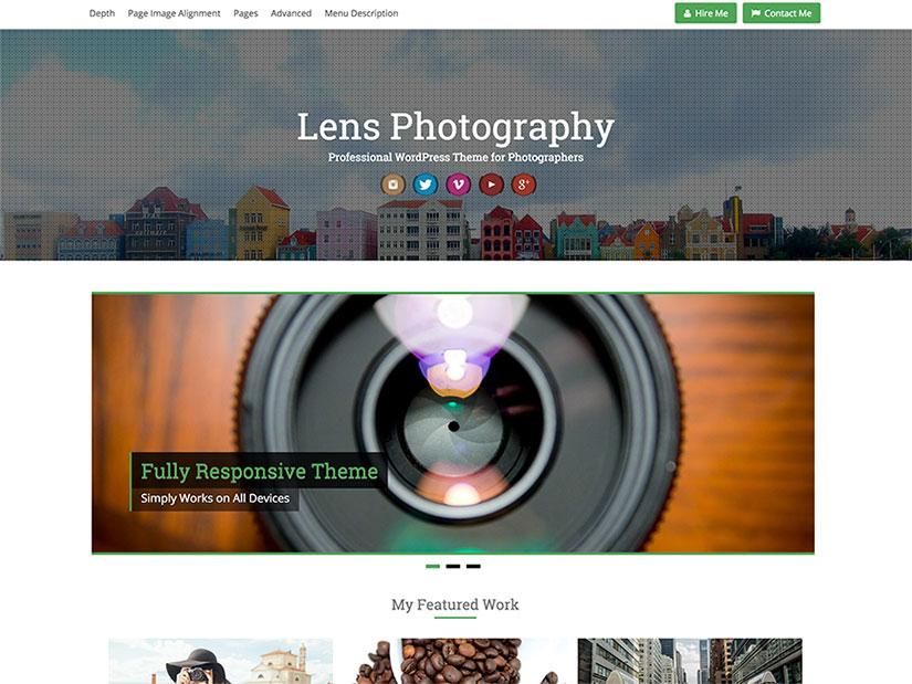 Plantillas WordPress Fotografía