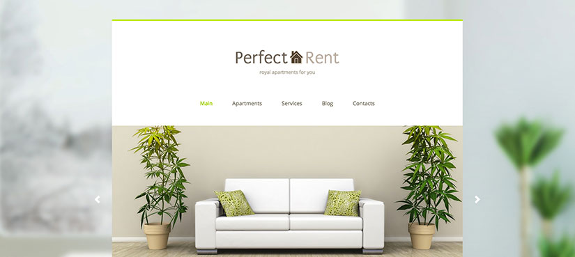 Perfect rent wordpress inmobiliarias