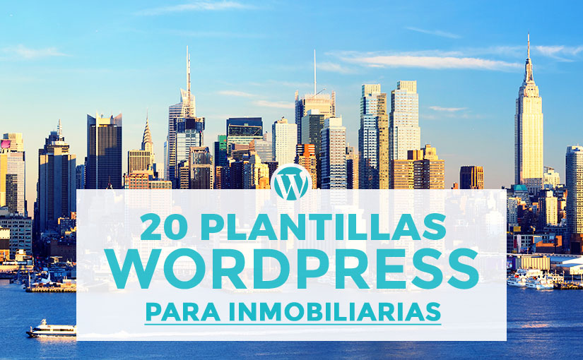 20 mejores plantillas de wordpress para inmobiliarias