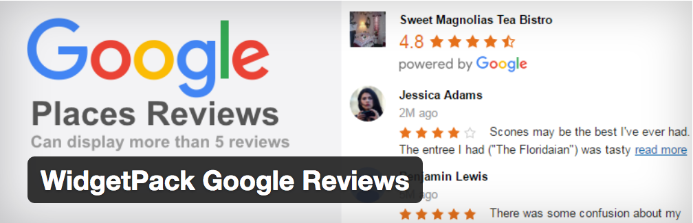 Plugin WordPress Google Reviews
